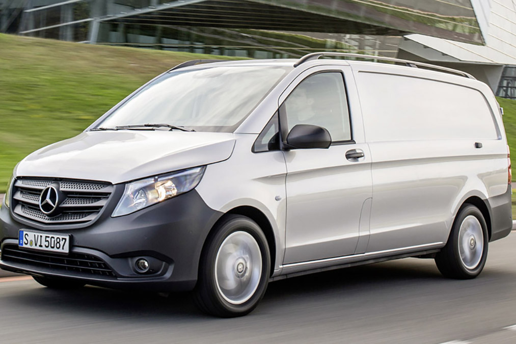 Rent Mercedes-Benz Vito kaubik - 1